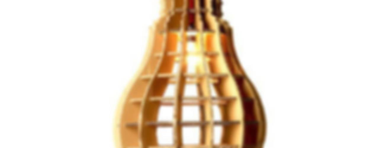 Iluminación de cartón de Decocook Ecléctico