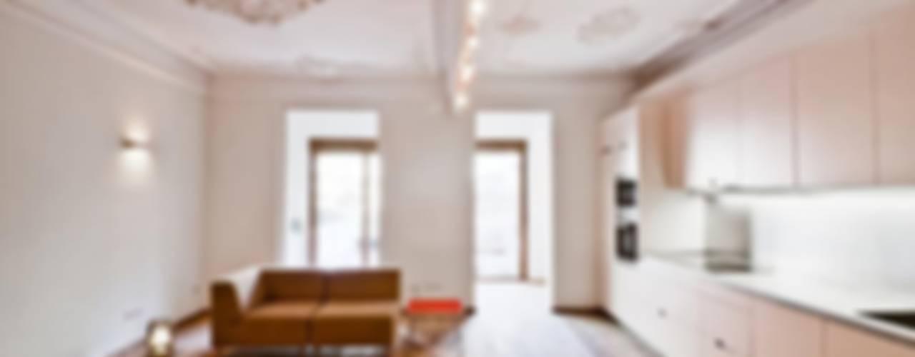 Reforma piso Diputación | Anne-Sophie de Vargas y Adriana Porta Nobell Salones de estilo clásico de Diseño y Comunicación Online Clásico
