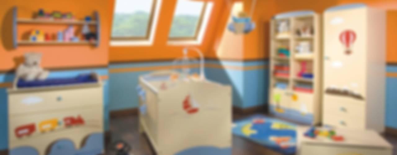 Modern nursery/kids room by Möbelgeschäft MEBLIK Modern