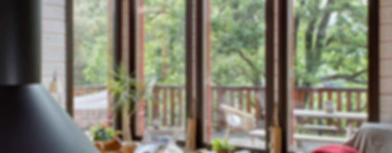 Modern Oturma Odası HOUSE HABITAT Modern