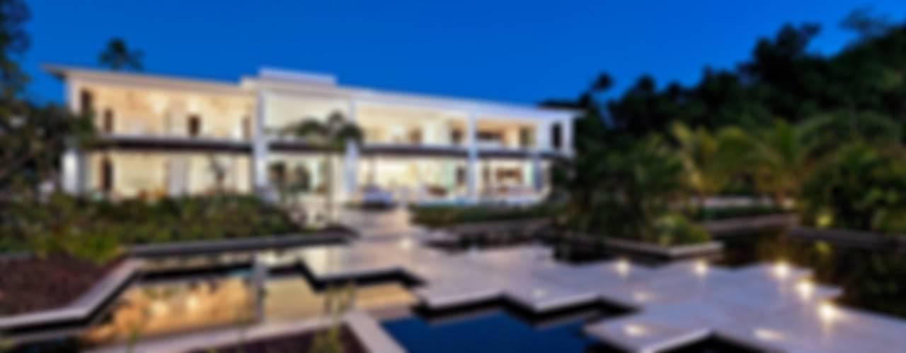 Modern Caribbean Villa Modern Evler Wilkinson Beven Design Modern