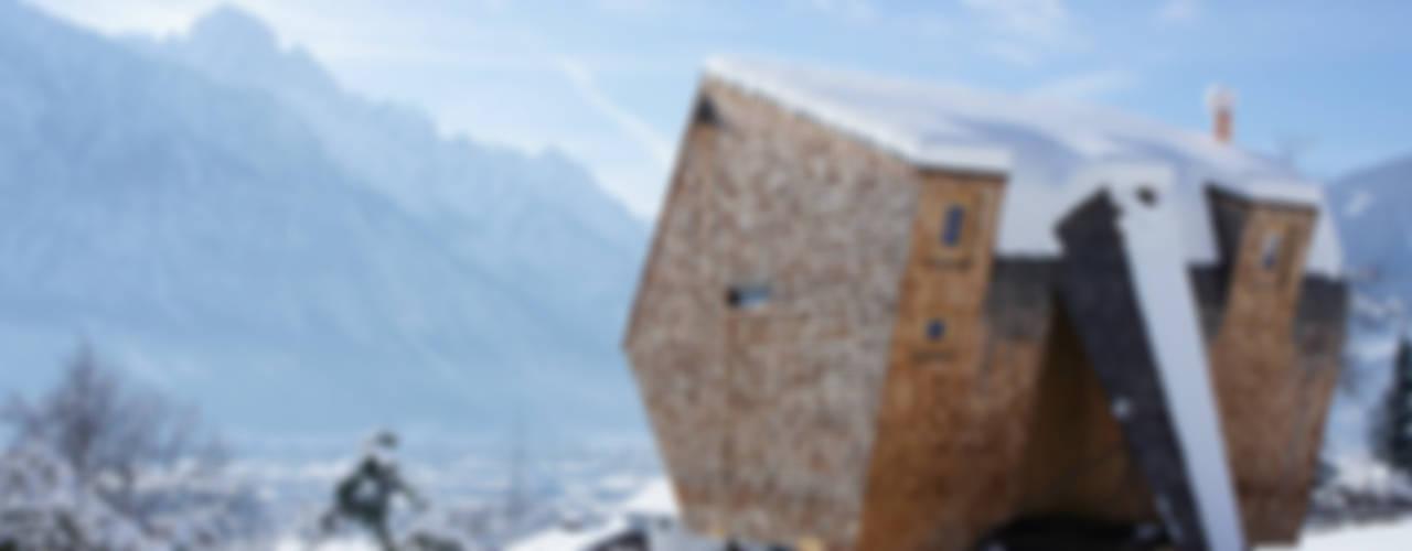 Projekty,  Domy zaprojektowane przez Aberjung Design Agency, Nowoczesny