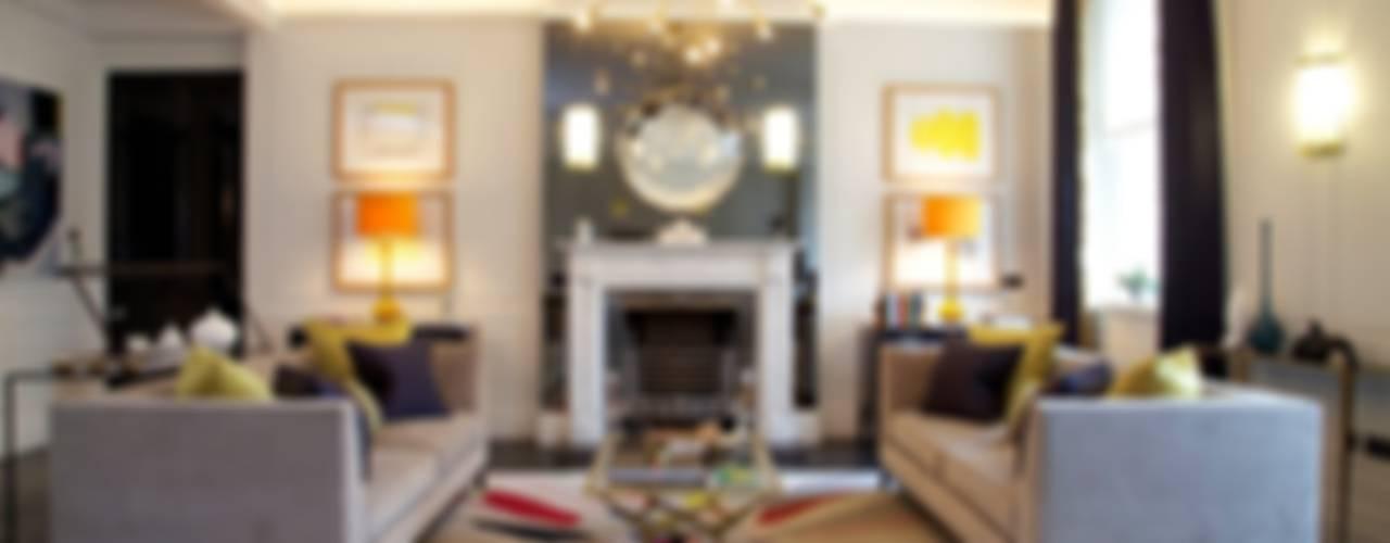 Global Eclectic Style Livings de SB design Studio