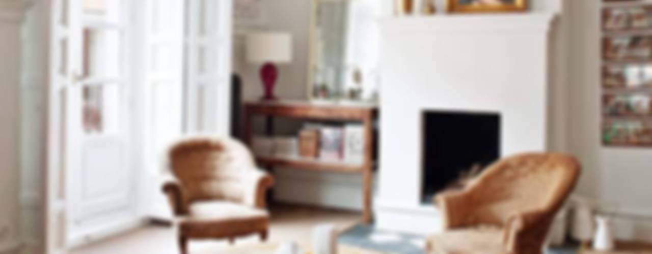 Salas / recibidores de estilo  por Simetrika Rehabilitación Integral