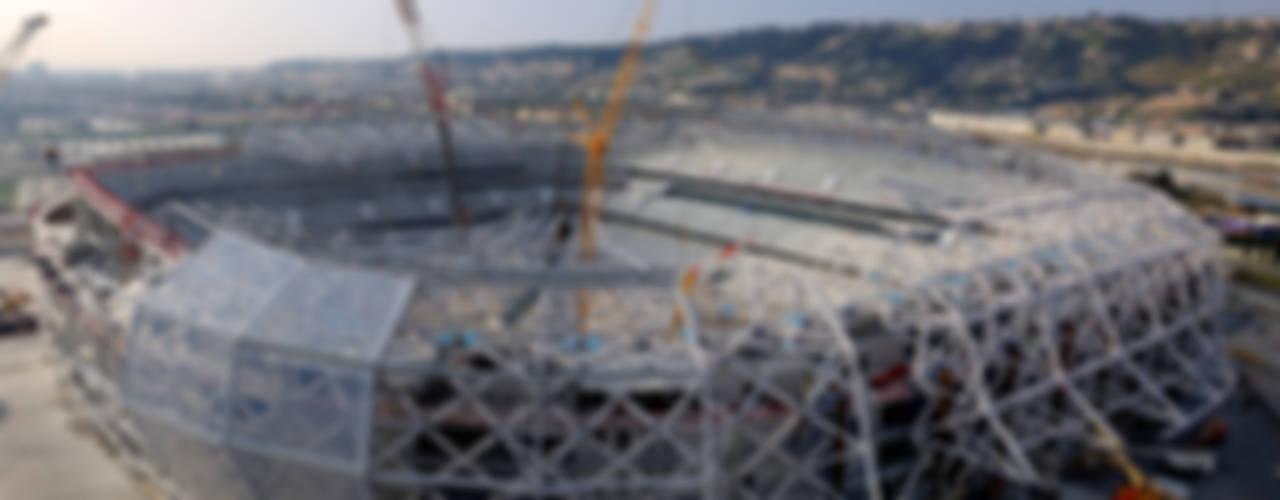 Stade Allianz Riviera: Stades de style  par Wilmotte & Associés