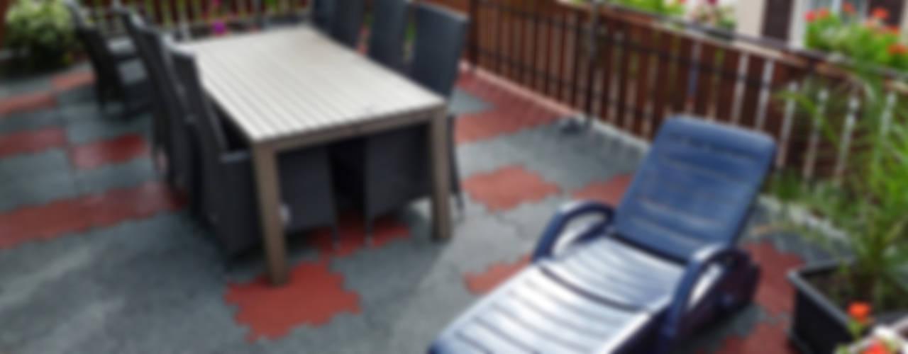 Terraces Modern balcony, veranda & terrace by WARCO Bodenbeläge Modern