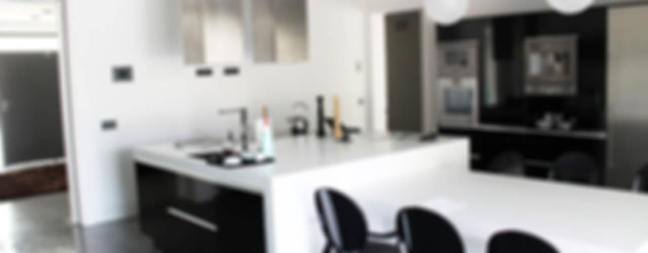 vivienda unifamiliar en Madrid Cocinas de estilo moderno de Arquitectos Madrid 2.0 Moderno