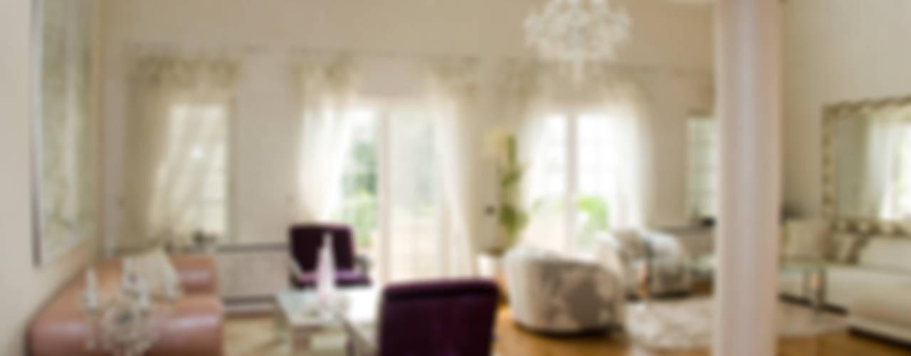 Private Residence in Beykoz Eklektik Oturma Odası ARKITEX INTERIORS Eklektik