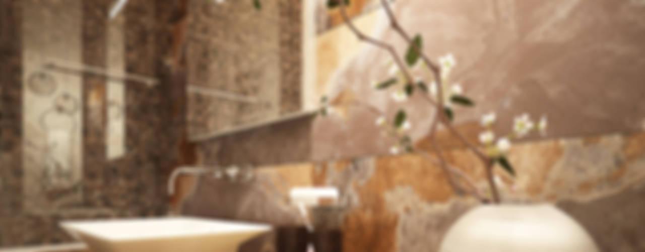 "Проект квартиры ЖК ""Дубровка"". Ванная комната в стиле минимализм от Александра Петропавловская Минимализм"
