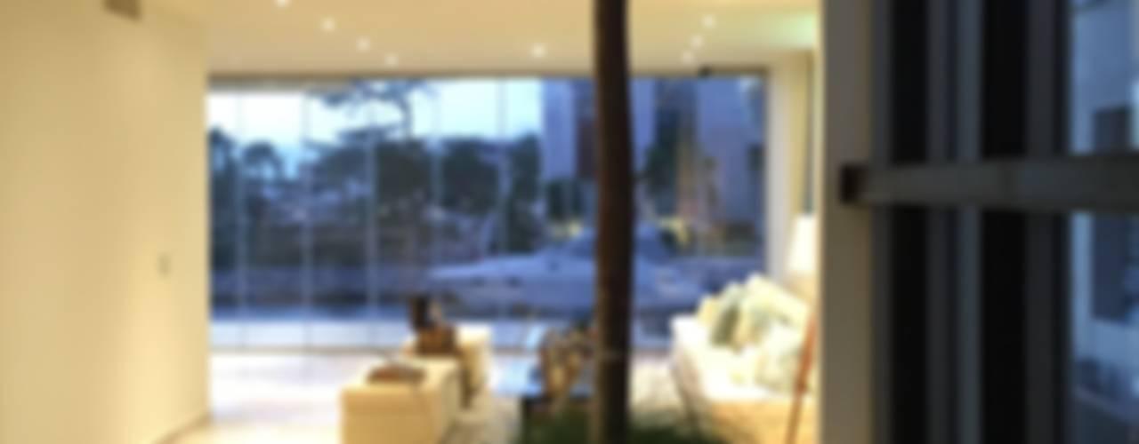Casa Puerto Escondido Lt 80 Jardines de invierno minimalistas de Vortex Arquitectos Minimalista