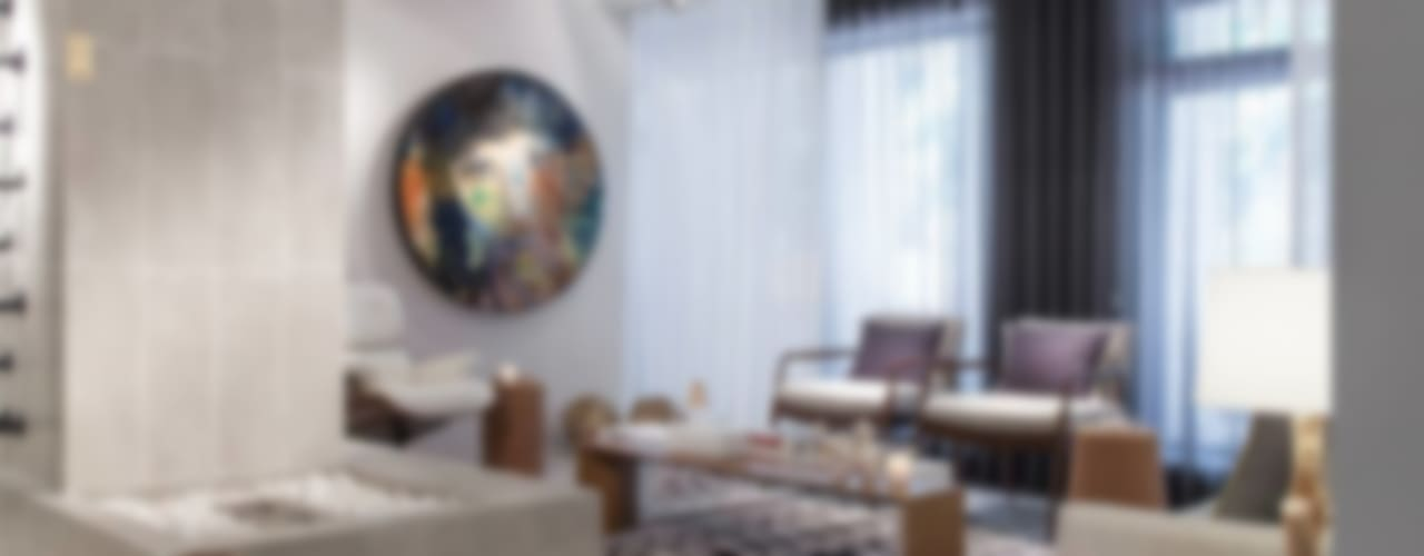 BE - Loft Salas de estar ecléticas por Ana Rita Soares- Design de Interiores Eclético