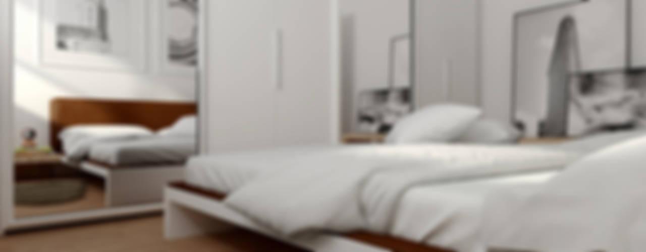 Appartamento Firenze Case moderne di CSP2 studio Moderno
