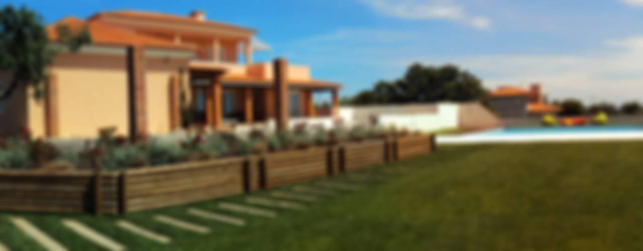 Moradia Privada: Jardins  por OpenGreen,