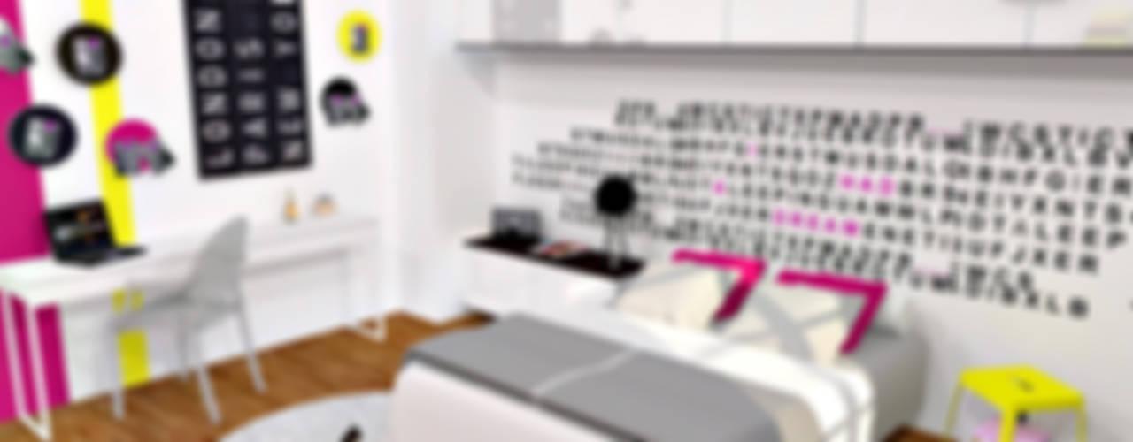 Sypialnia od HanaK Décoration