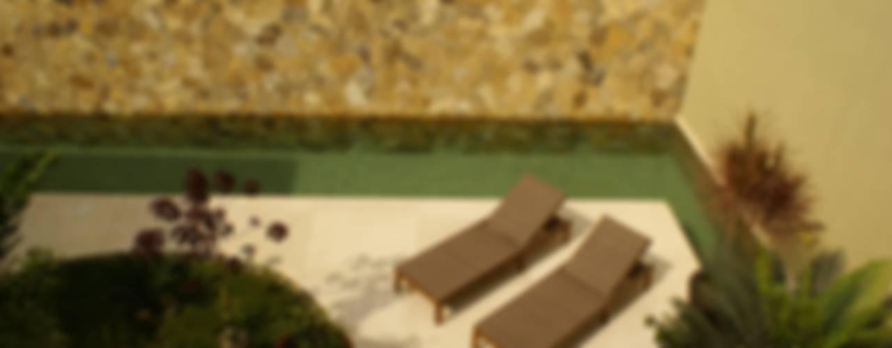 K House Minimalistyczny ogród od arqflores / architect Minimalistyczny