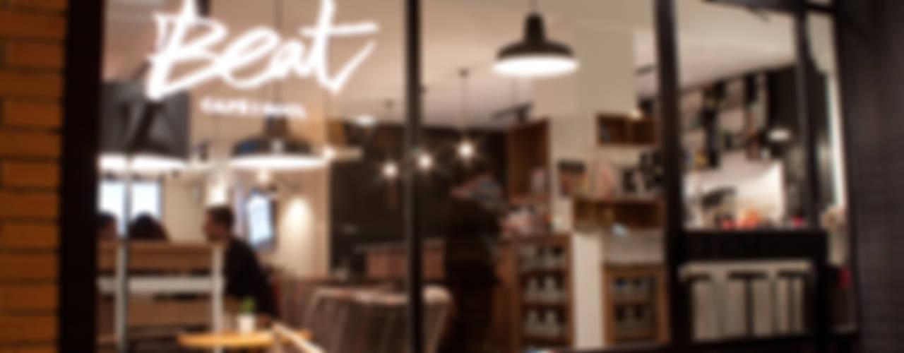 Beat Cafè&Soul. Lleida ALBERT SALVIA dissenyador d'interiors Gastronomía de estilo escandinavo