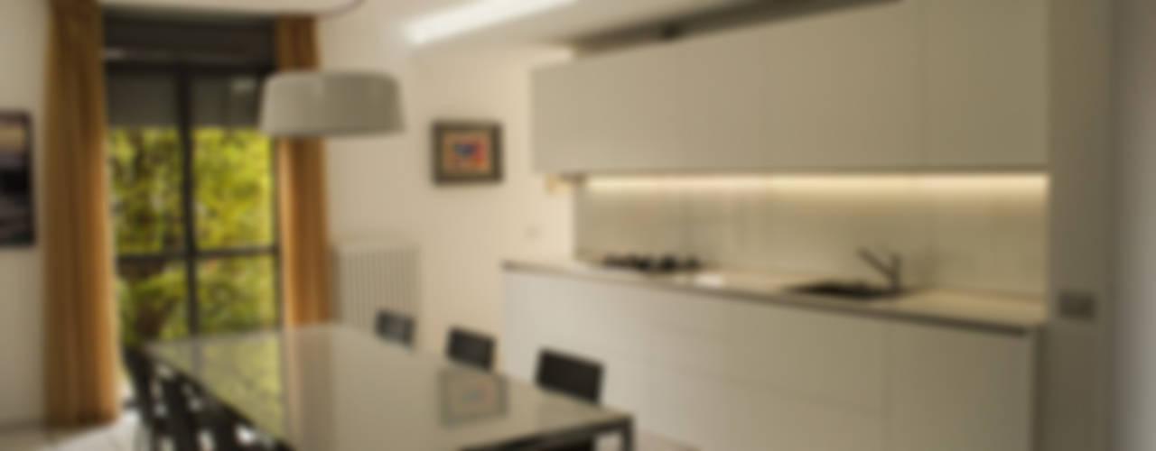 Projekty,  Kuchnia zaprojektowane przez Arch. Massimo Bertola, Minimalistyczny