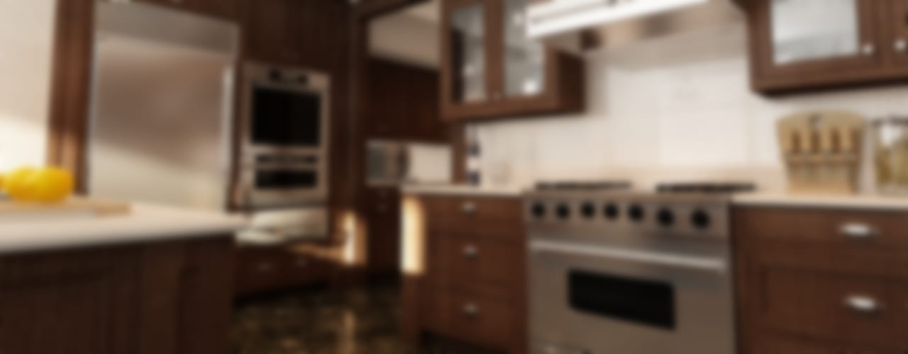 Cucina Studio di Programmazione e Rendering Ponzanelli Cucina in stile industriale