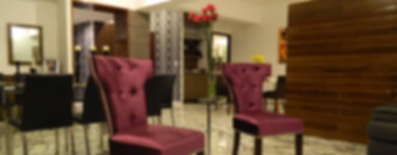 PHM 04: Salas de estilo moderno por NIVEL TRES ARQUITECTURA