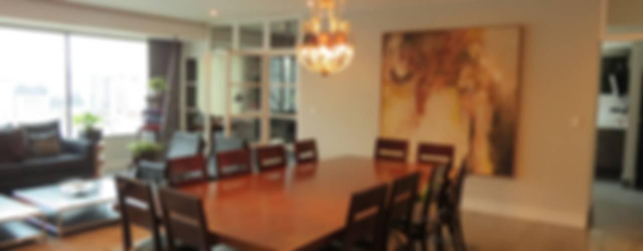 Salle à manger de style  par NIVEL TRES ARQUITECTURA,