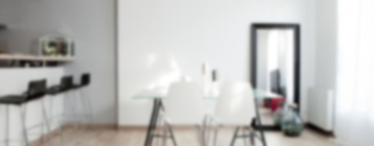 Salones de estilo moderno de Grazia Architecture Moderno