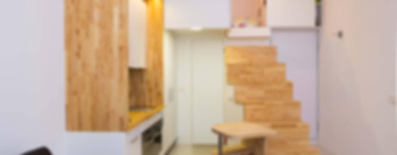 Minimalistische Küchen von Beriot, Bernardini arquitectos Minimalistisch