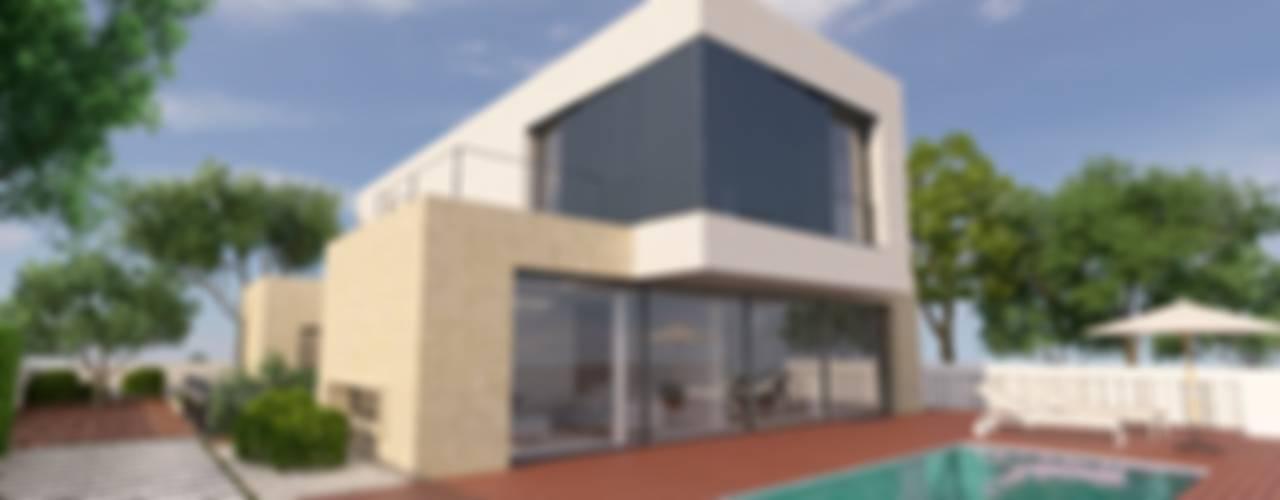 Nowoczesne domy od NUÑO ARQUITECTURA Nowoczesny