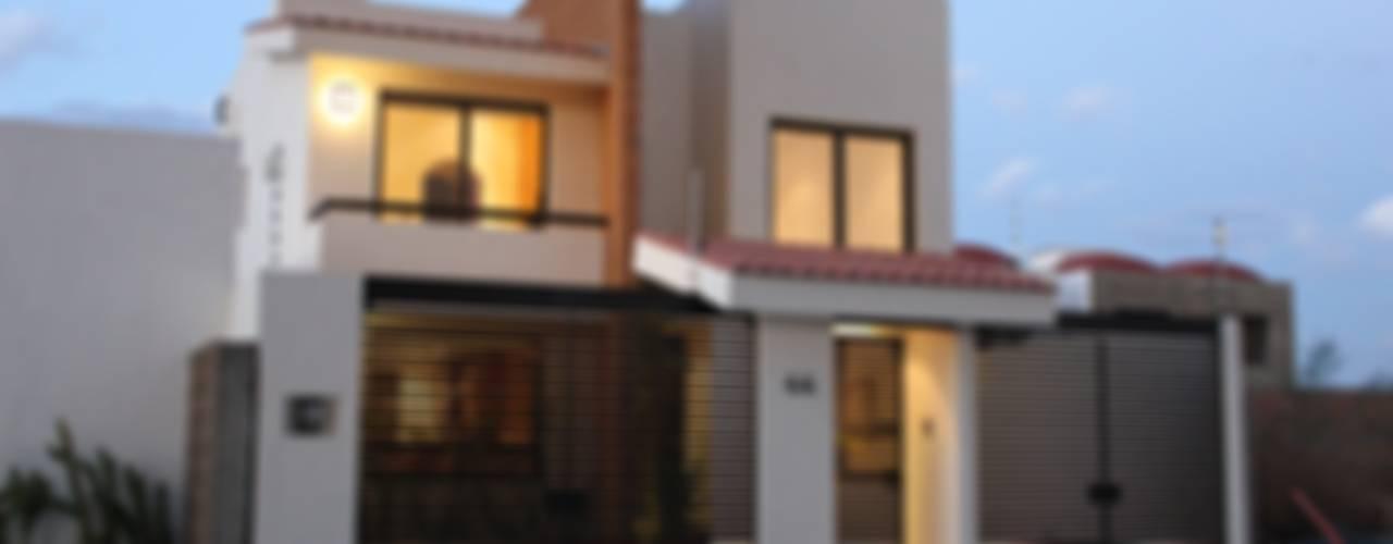 Residencial Sta. Fe:  de estilo  por Arquitectura MAS, Minimalista