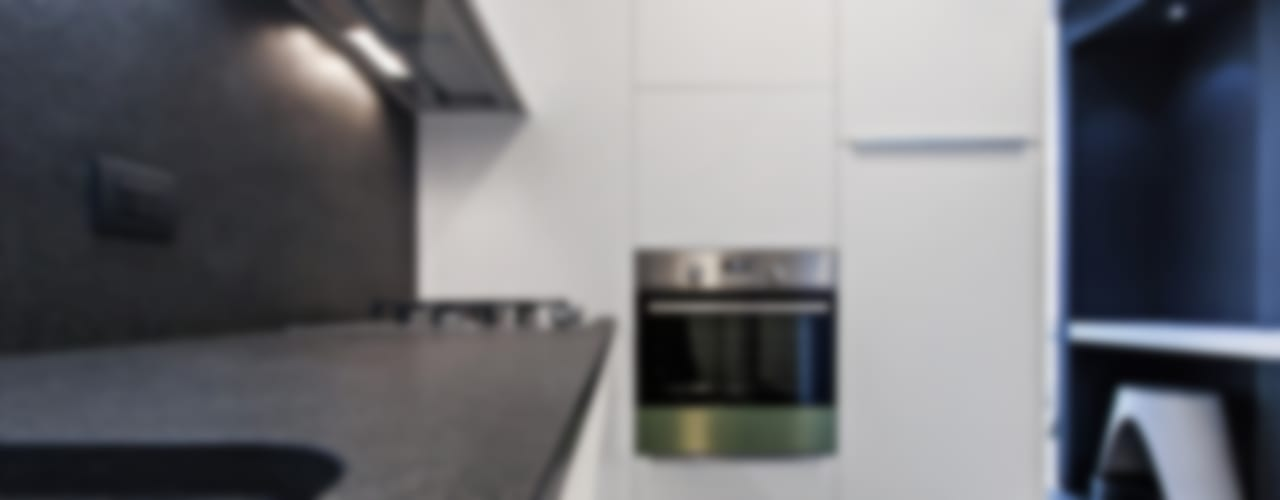 Cocinas de estilo moderno de Arch. Andrea Pella Moderno