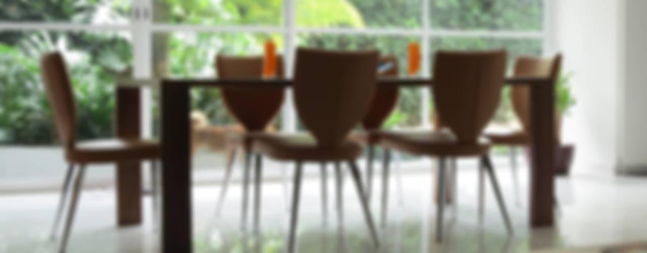 CASA PALMAS: Comedores de estilo  por NIVEL TRES ARQUITECTURA, Moderno