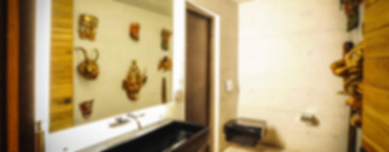 Projekty,  Łazienka zaprojektowane przez P+0 Arquitectura