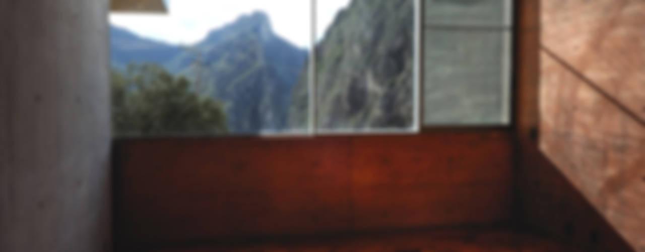 Casa Narigua : Gimnasios de estilo  por P+0 Arquitectura, Moderno