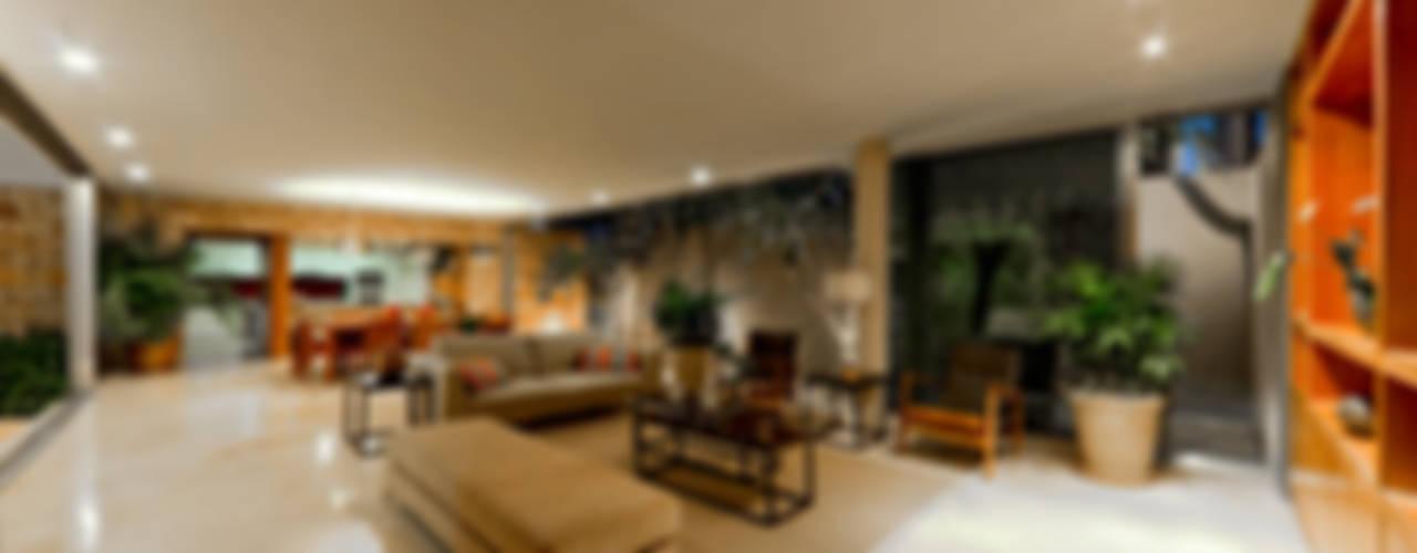 Montebello 332: Salas de estilo  por Jorge Bolio Arquitectura