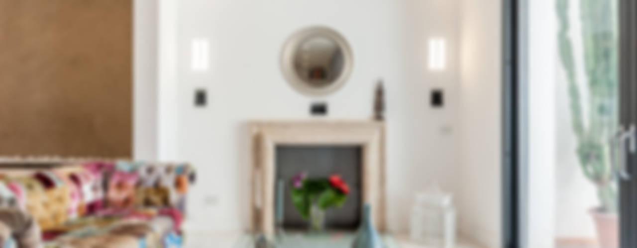 Moderne Wohnzimmer von zero6studio - Studio Associato di Architettura Modern