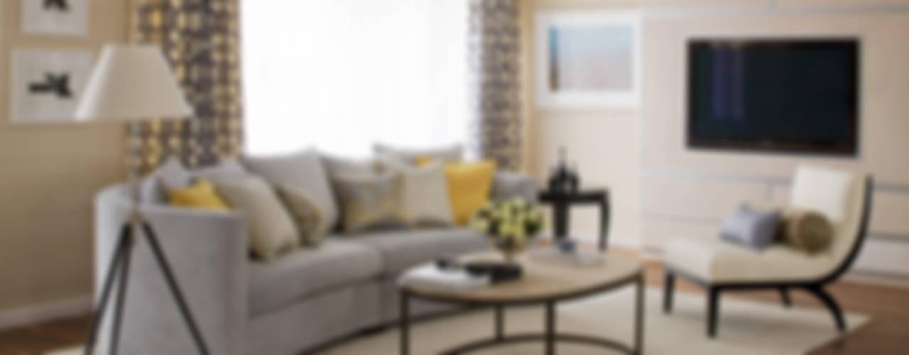 Cornwall Penthouse: Regents Park Roselind Wilson Design Salones de estilo clásico