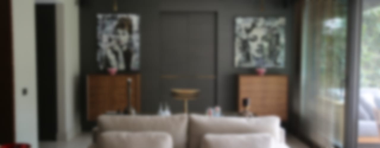 ABE HOUSE Salones de estilo ecléctico de Esra Kazmirci Mimarlik Ecléctico
