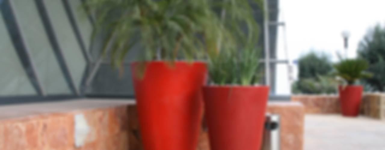Macetas de Fibra de Vidrio:  de estilo  por FIBERLAND, Minimalista