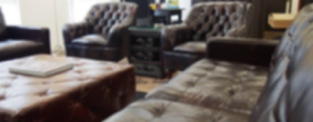 Chesterfield Sofa & Leather Furniture from Locus Habitat Locus Habitat Klasik