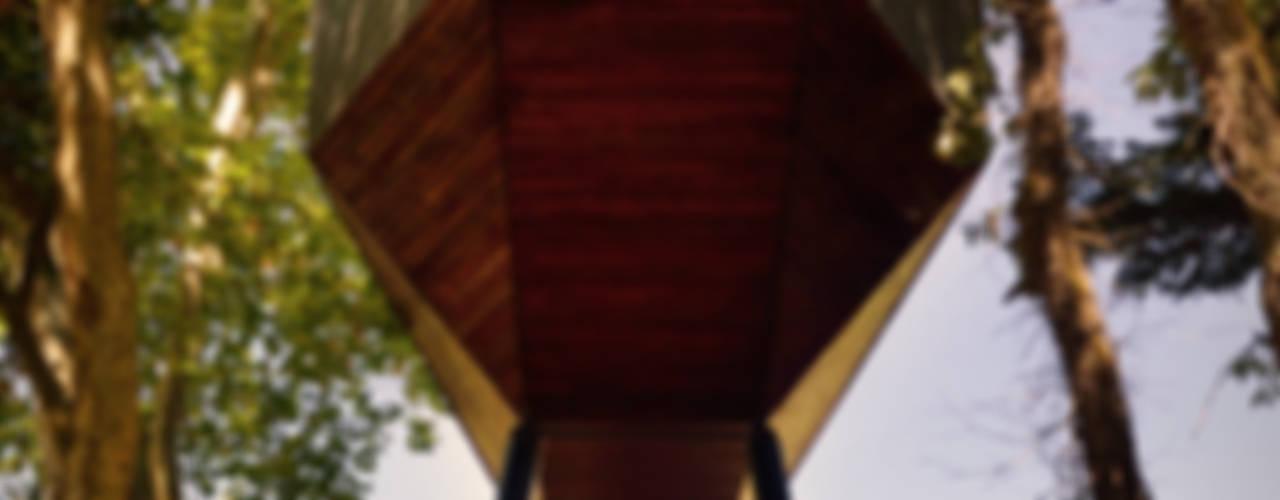 TREE SNAKE HOUSES por RA\\ Rebelo de Andrade Minimalista