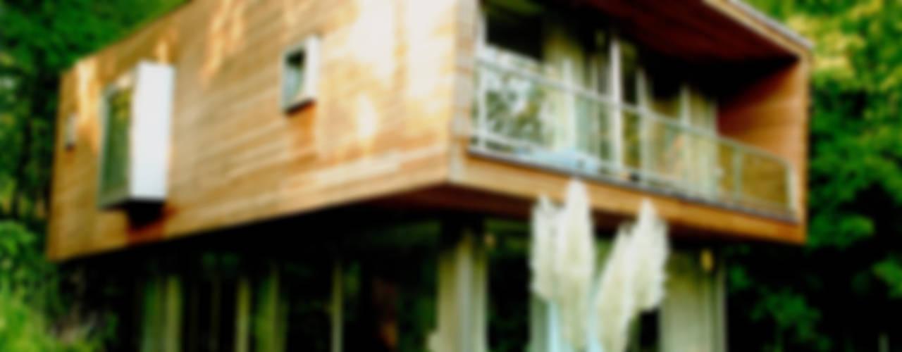 Nowoczesne domy od IOX Architekten GmbH Nowoczesny
