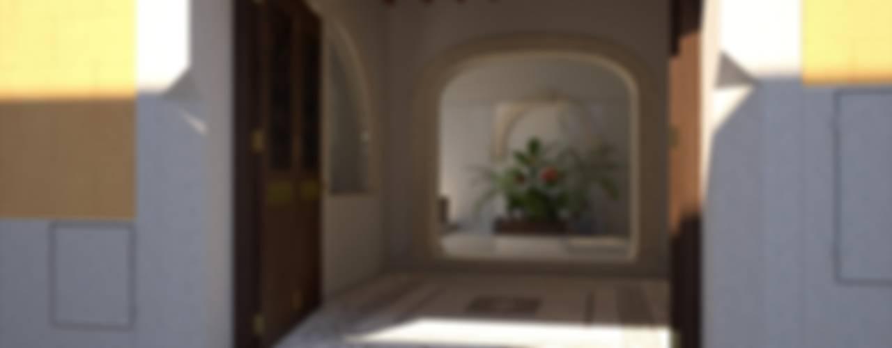 Perspectivas 3D - Garajes y entradas Garajes de Realistic-design