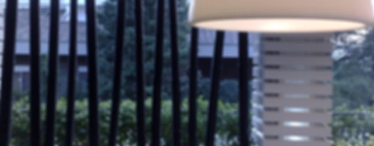Balcon, Veranda & Terrasse modernes par Fabio Valente Studio di architettura e urbanistica Moderne