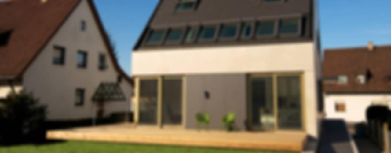 Beton 2+ Moderne Häuser von Udo Ziegler | Architekten Modern