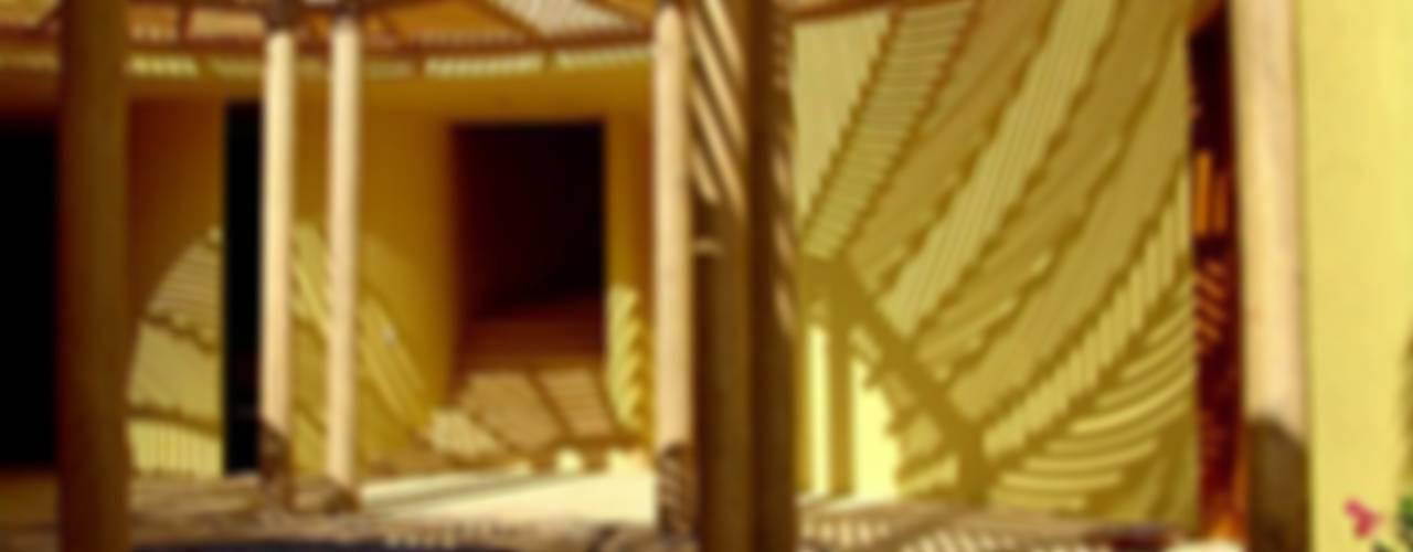 Casa Caracol:  de estilo  por BR  ARQUITECTOS