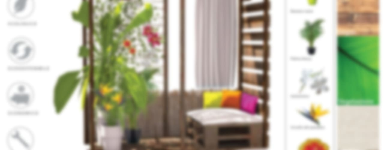 Terrasse de style  par Labs architetti, Tropical