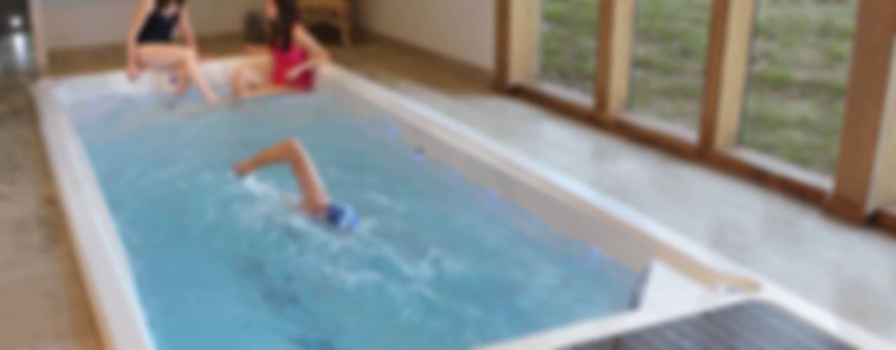 Swim Spas and Exercise Pools de Hot Tub Barn Moderno