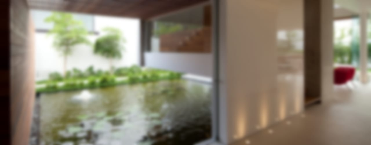 Jardin moderne par Hernandez Silva Arquitectos Moderne
