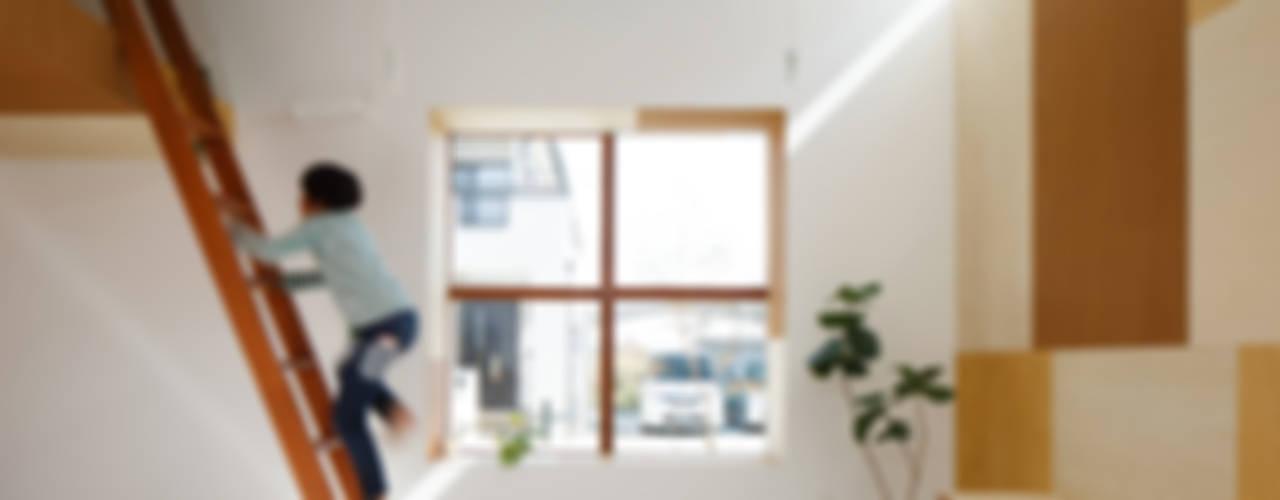 Idokoro Окна и двери в стиле минимализм от ma-style architects Минимализм