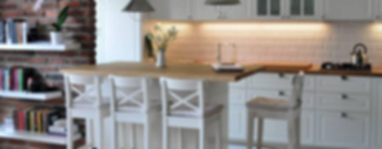Pokój z aneksem - jak maksymalnie można to wykorzystać?: styl , w kategorii Jadalnia zaprojektowany przez Art of home,Nowoczesny