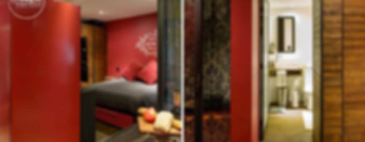 Modern style bedroom by Boutique de Arquitectura (Sonotectura + Refaccionaria) Modern